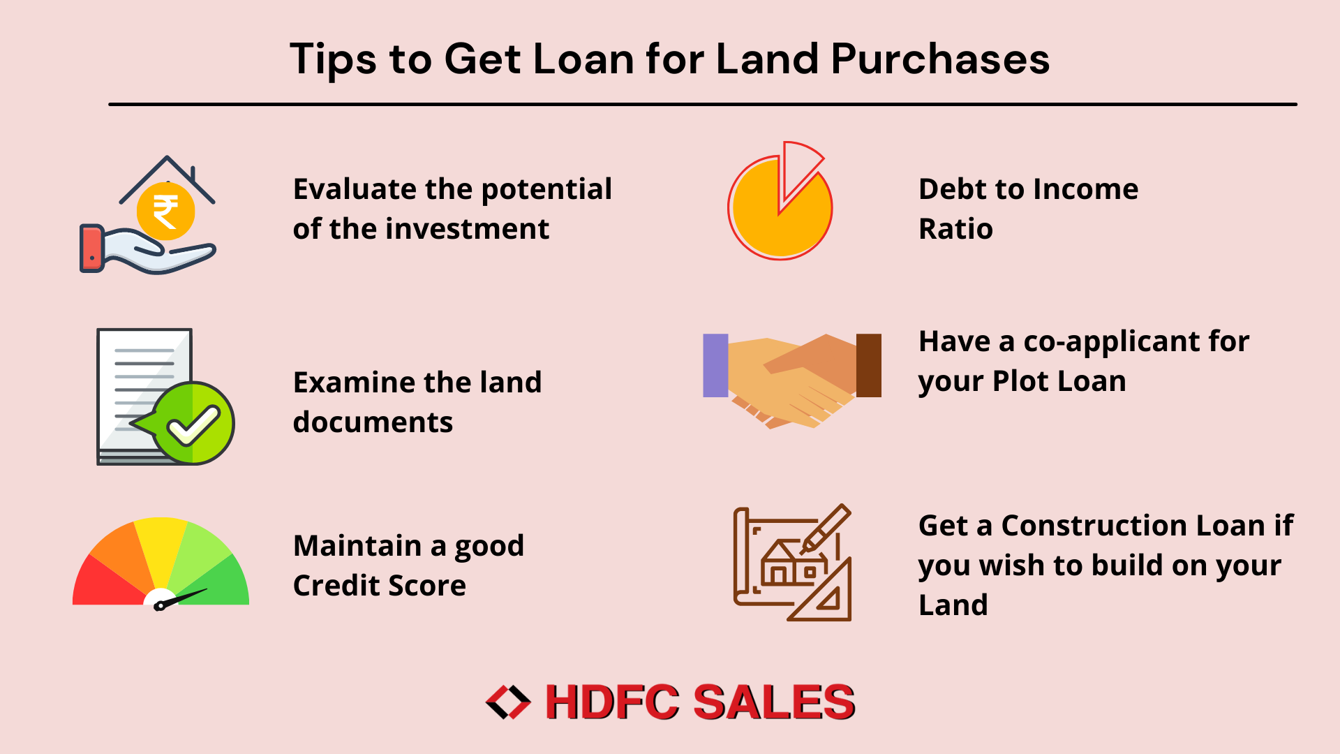 Tips to get a Land Loan