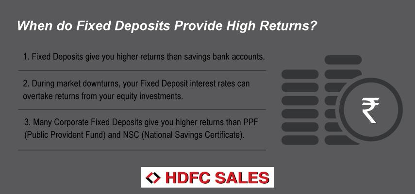 When do Fixed Deposits Provide High Returns?