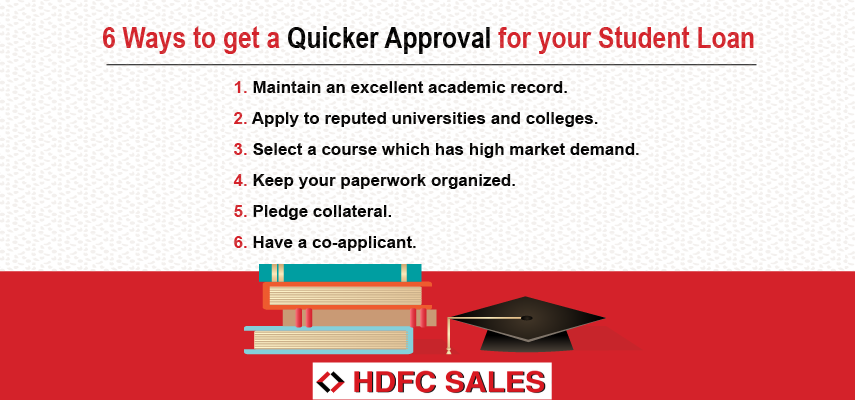 Ways to get Approval for Education Loan