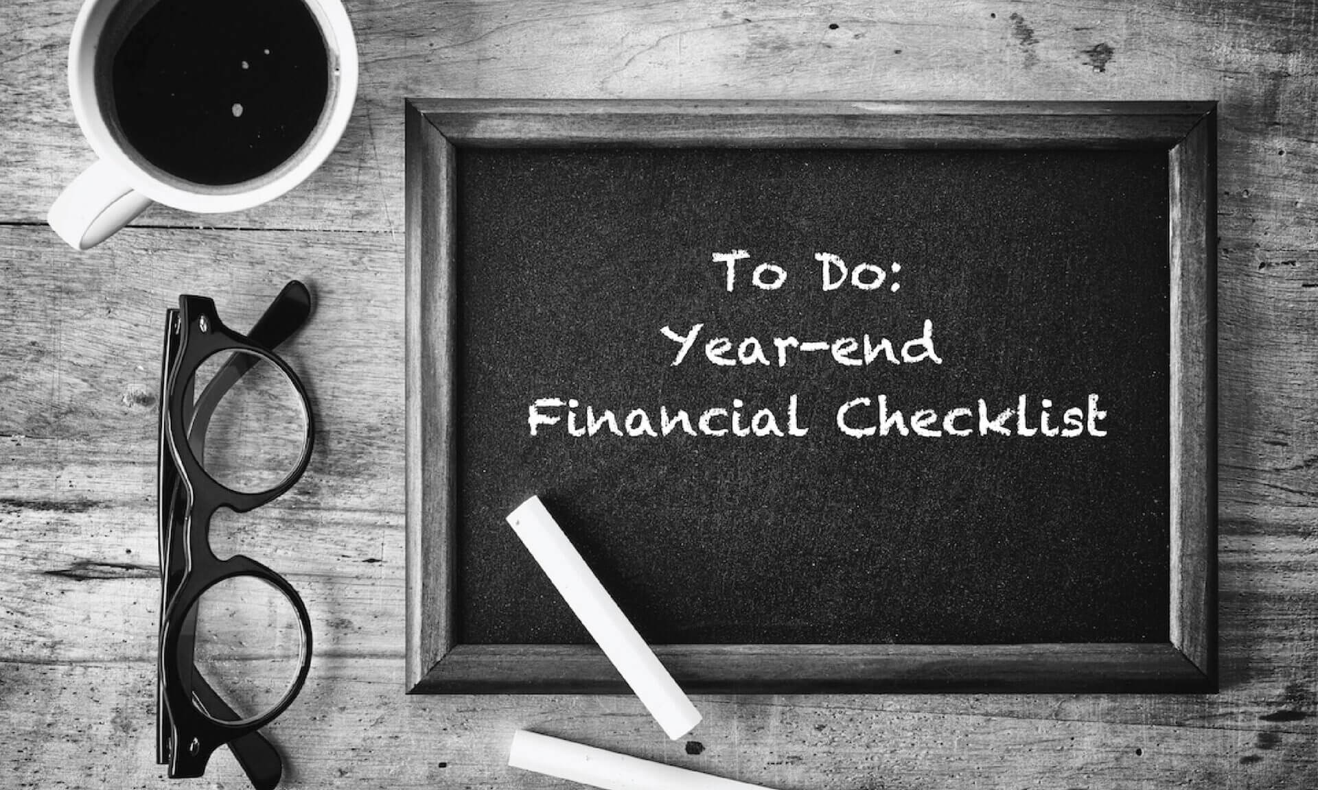 Things to do Before Fiscal Year Ends