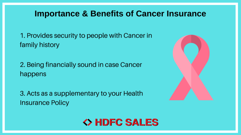 Importance of Cancer Insurance