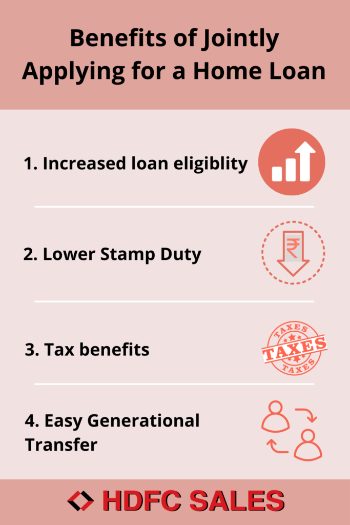 Benefits of Jointly Applying for a Home Loan