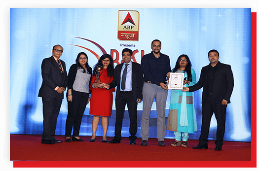 Awarded Most Admired Financial Services Provider by ABP News
