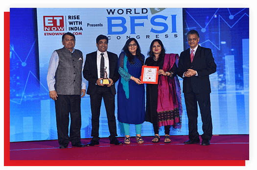 Awarded Excellence in Home Loan by ET Now