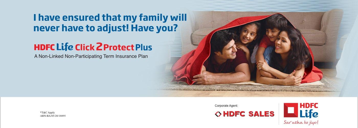 HDFC Term Life Insurance Plans - HDFC Life Click2Protect Plus