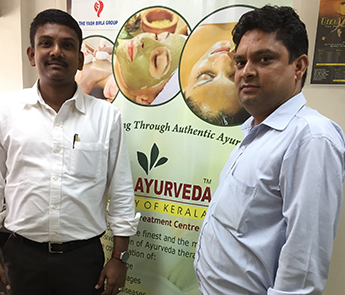 Ayurvedic health camp for employees